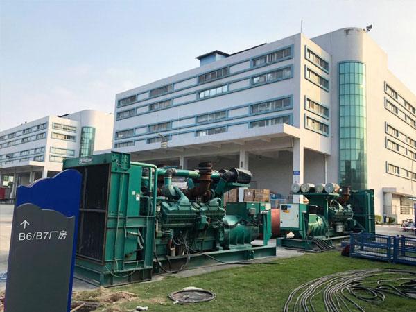 南京某电子厂出租两台康明斯发电机