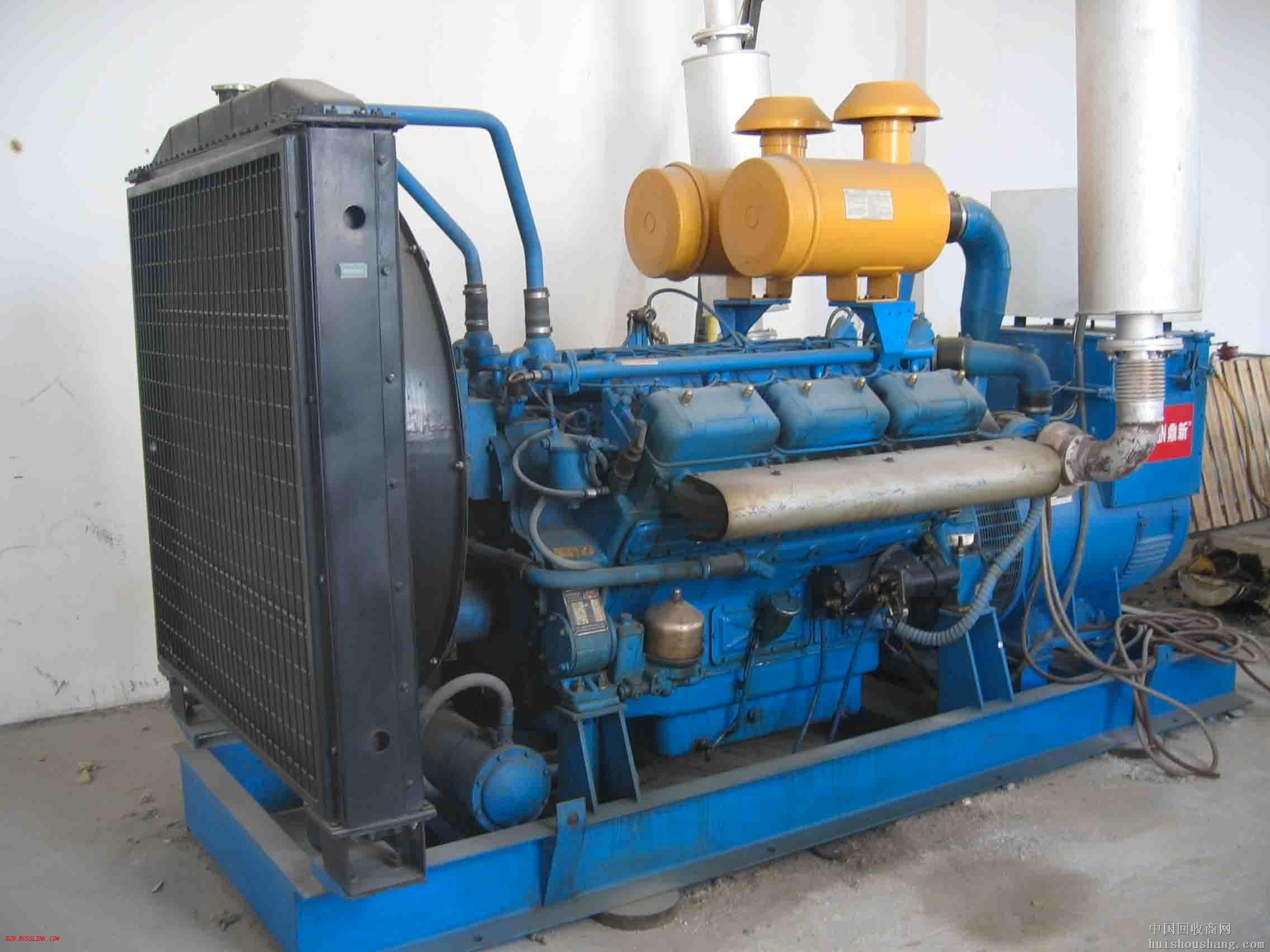 南京藍色二手發電機出售