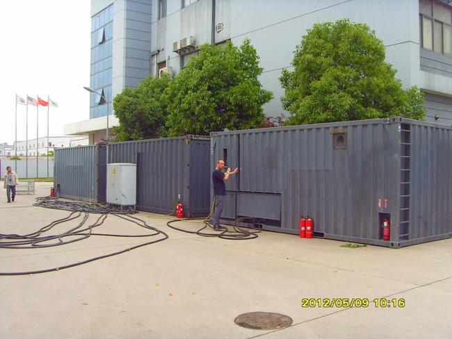 南京集裝箱二手發電機