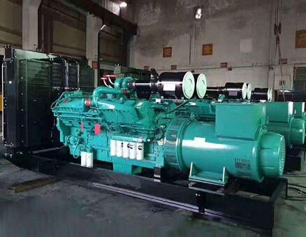 南京六合縣科克400kw大型柴油發電機組
