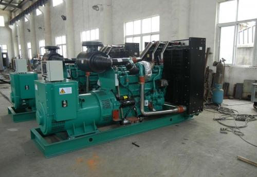 南京玄武二手威曼400千瓦柴油發電機組D15A