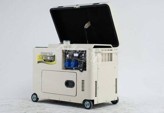 南京二手科克8kw小型柴油发电机组