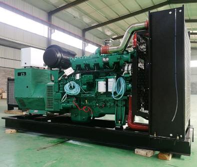 苏州溧水县泰豪500kw大型柴油发电机组