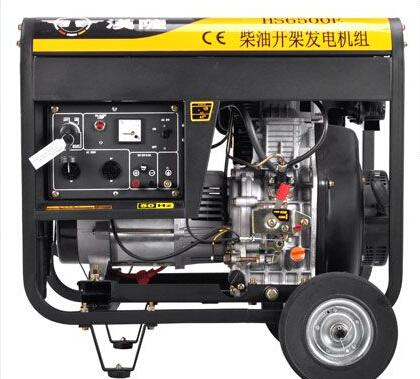 南京玄武二手上柴5kw小型柴油发电机