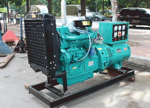 蘇州昆山本田30kw小型柴油發電機組